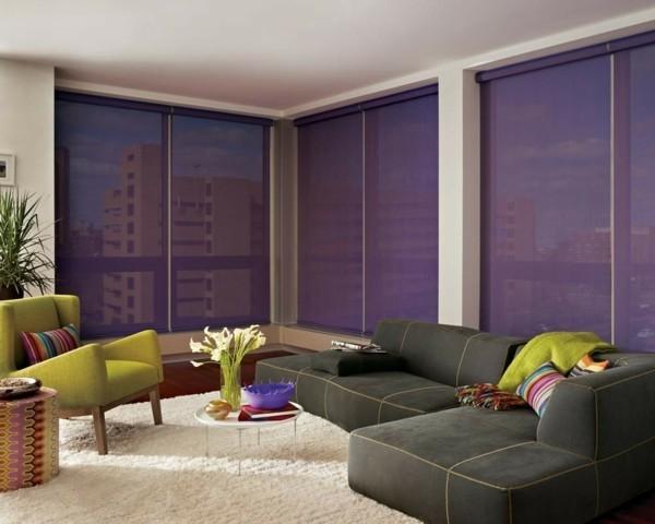 fensterrollen ultra violet pantone farbe 2018