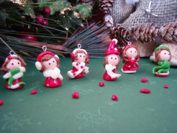 Schon Figuren Basteln Mit Fimo Zu Weihnachten Zwerte Wichtel