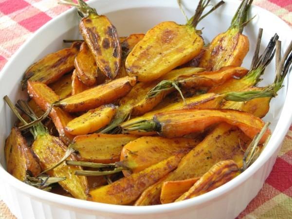 gebackene karotten mit kokosöl und honig fatburner rezepte