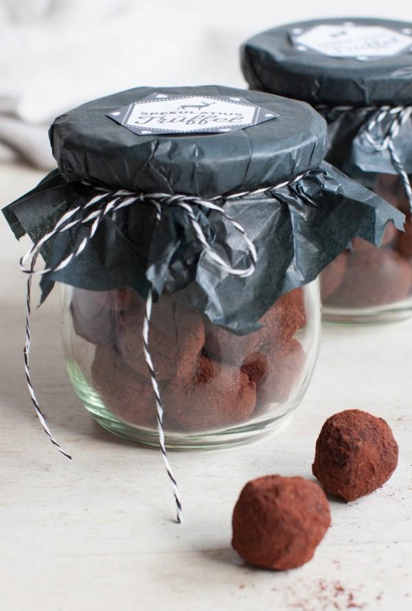 geschenke aus der küche zubereiten im glas