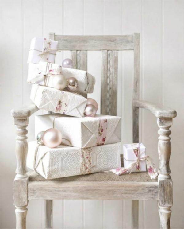 geschenke verpacken shabby chic deko selber machen