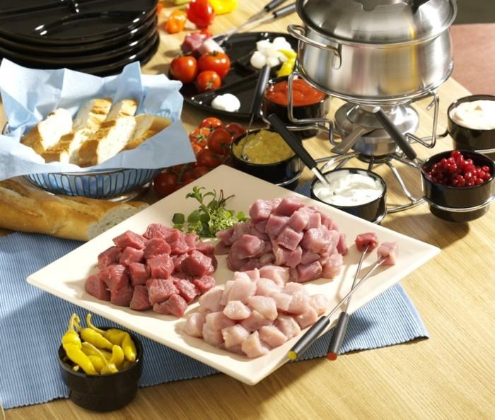 heiligabend essen rezepte am tisch direkt kochen