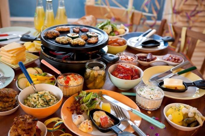 heiligabend essen rezepte master raclette