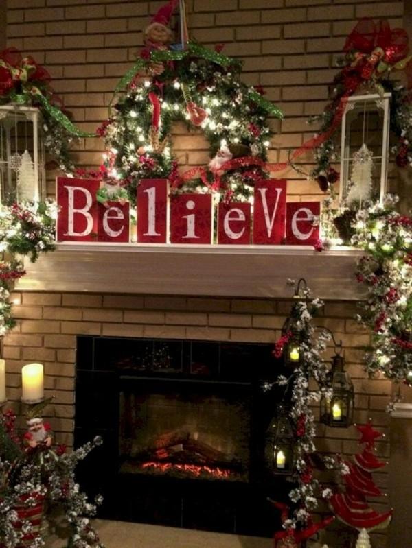 kamingesims weihnachtskamin weihnachten kamin deko