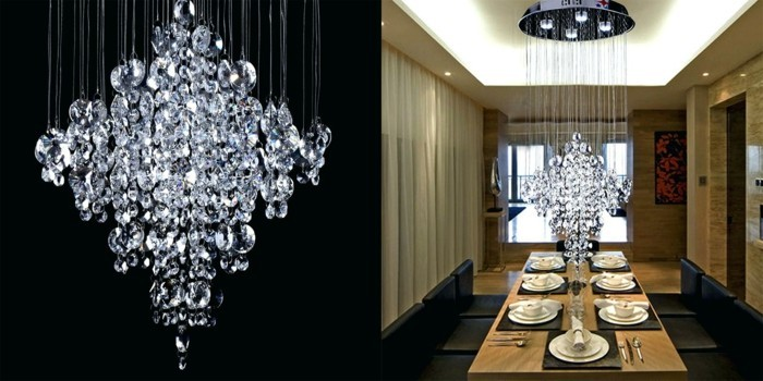 kronleuchter modern esstischlampe luxuriös prachtvoll
