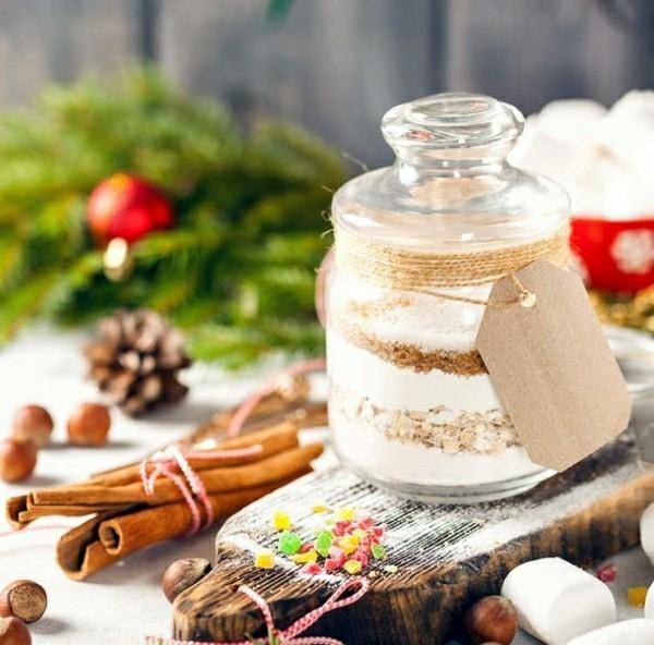 leckerer Inhalt geschenke aus dem glas weohnachtsgeschenke