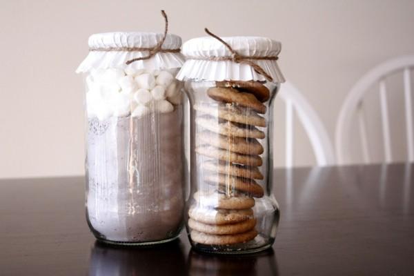 leckerer inhalt geschenke aus dem glas basteln mit kindern