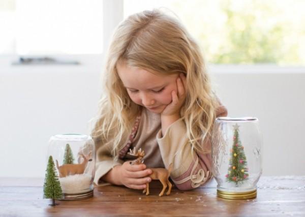 materialien weihnachtsgeschenke aus dem Glas mit kindern basteln (5)