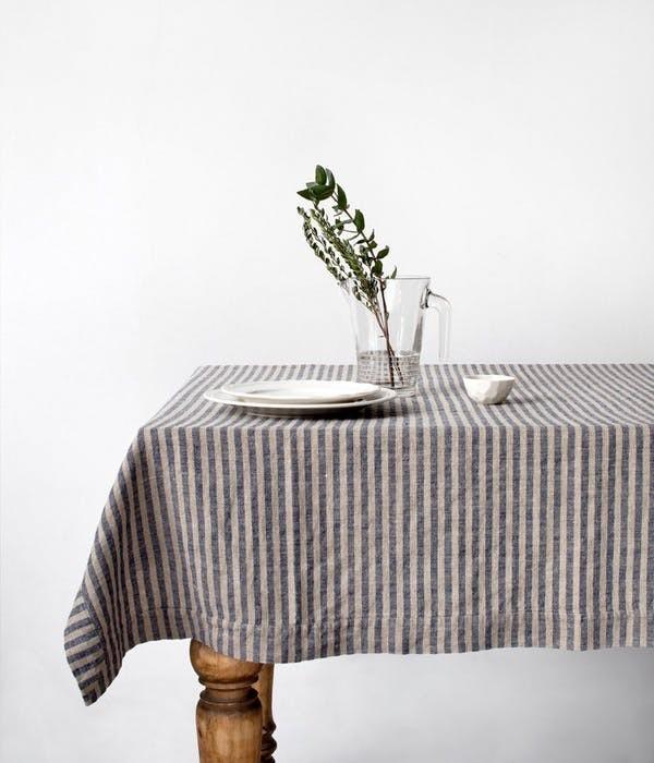 minimalismus raiiert tischdecken diy ideen