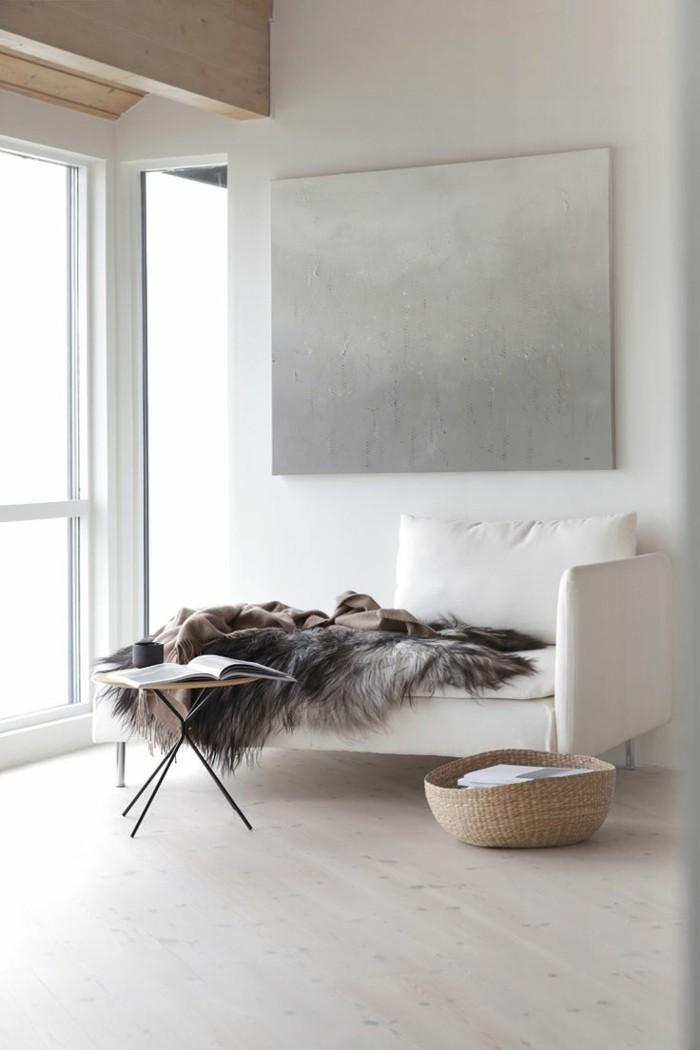 minimalistisch wohnen schöne einrichtungsideen behegalichkeit schaffen