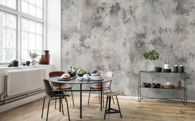 modern einrichten der patina effekt in der inneneinrichtung - Einfache Dekoration Und Mobel Moderne Heizung Fuer Modernes Wohnen