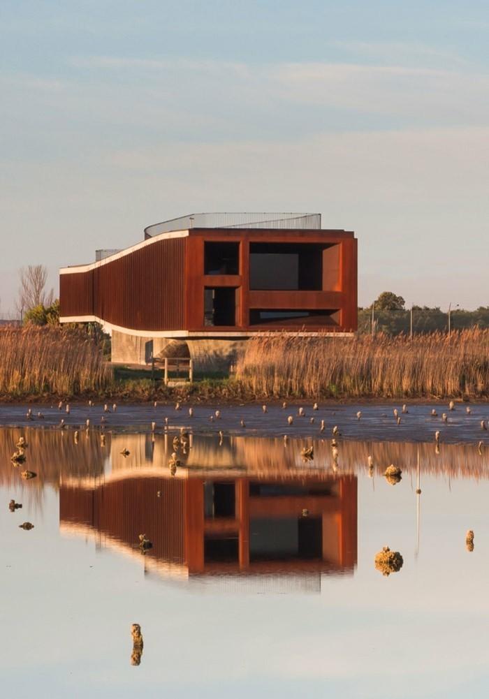 moderne Architektur am tollen See