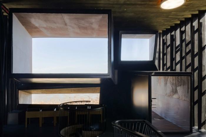 moderne Architektur mit tollem Glas