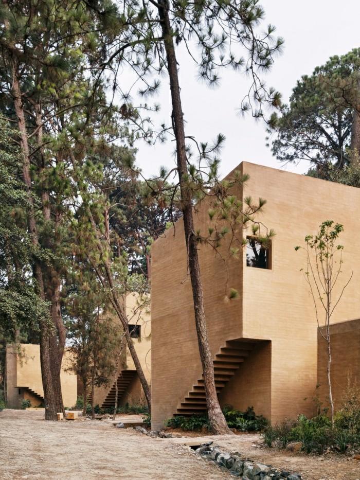 moderne Häuser backstein inspiration