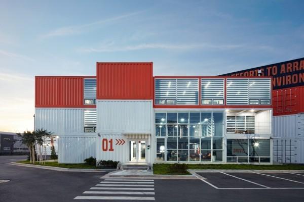 moderne architektur gebäude vertikale aufteilung-resized
