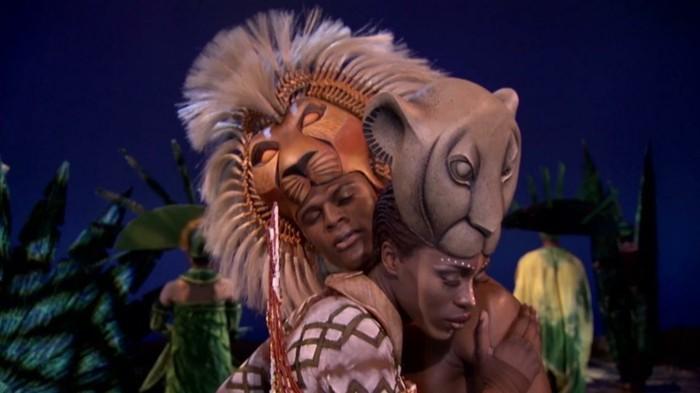 nala und simba im könig der löwen musical