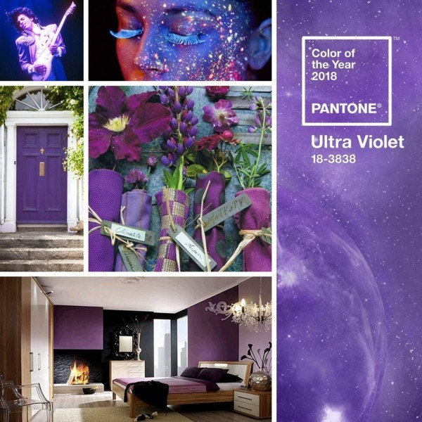 pantone farbe 2018 ultra violet einrichten