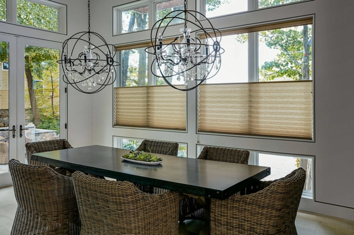 Plissees Für Fensterverdunkelung Und Fensterschmuck U2013 34 Frische Ideen Für  Fenster ...