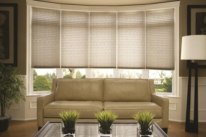 Plissees für Fensterverdunkelung und Fensterschmuck - 34 frische ...