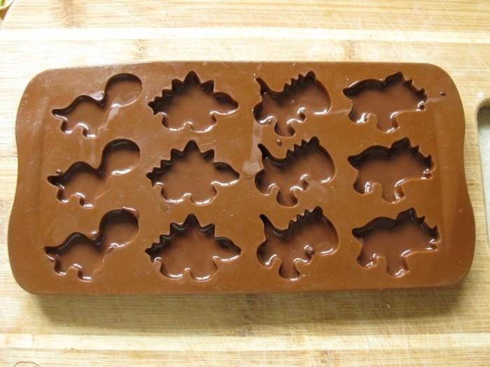 schkoladentafel gestalten formen