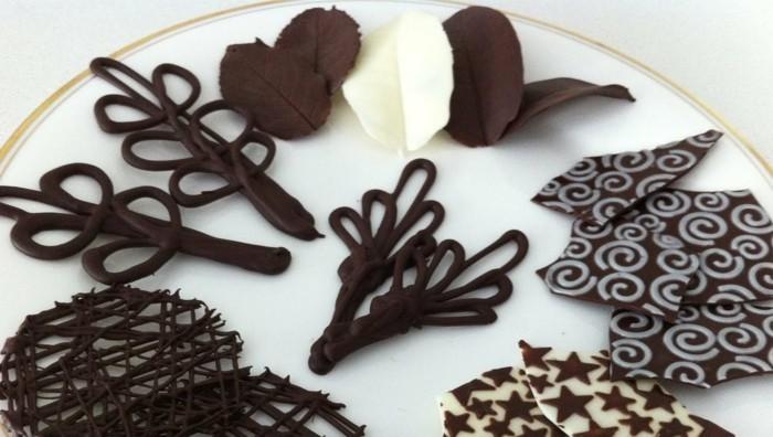 schkoladentafel gestalten freie form