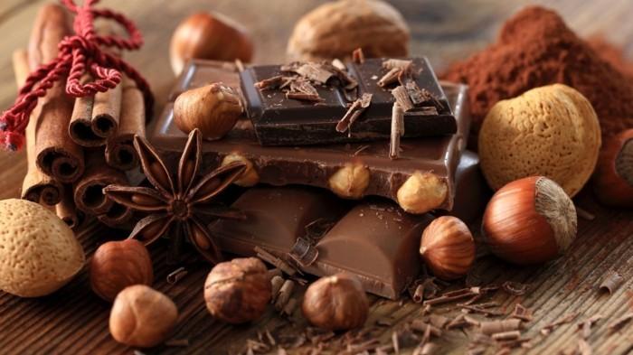 schkoladentafel gestalten geschnk selber machen mit liebe gewuerze weihnachten