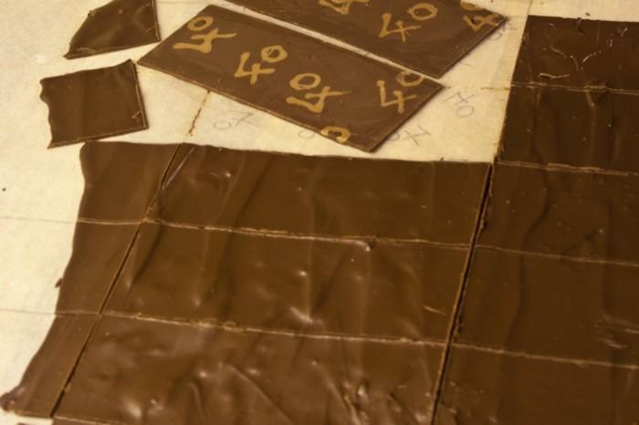 schokoladentafel gestalten schokolade selbst machen