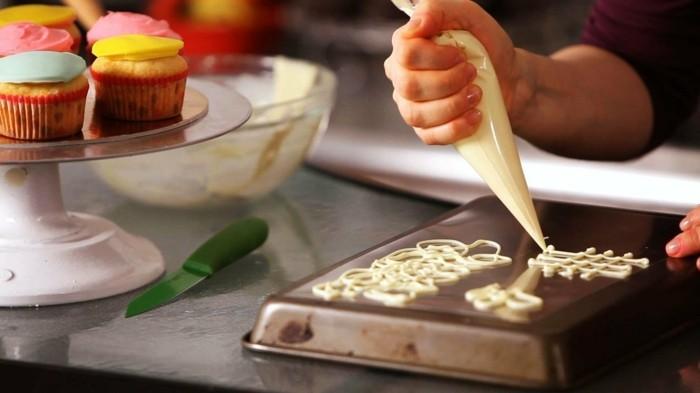 schokoladentafel gestalten verzieren