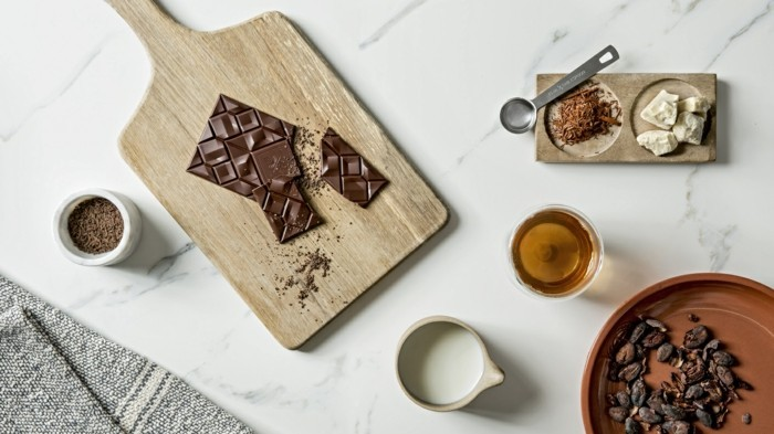 schokoladentafel gestalten vollmilch
