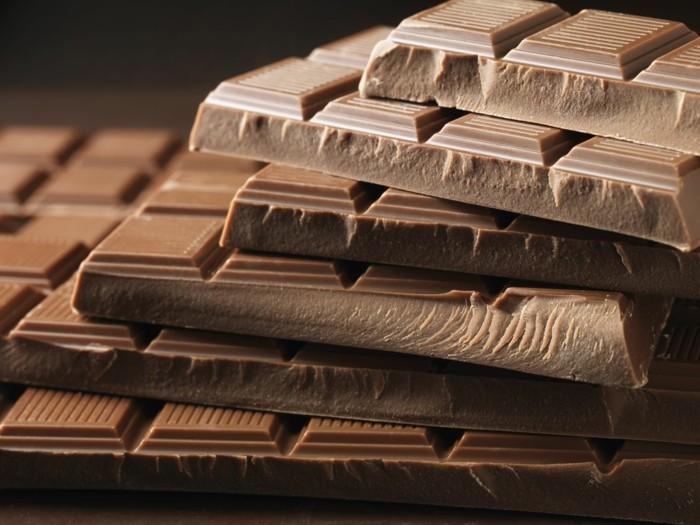 schokoladentafel gestalten vollmilich schokolade