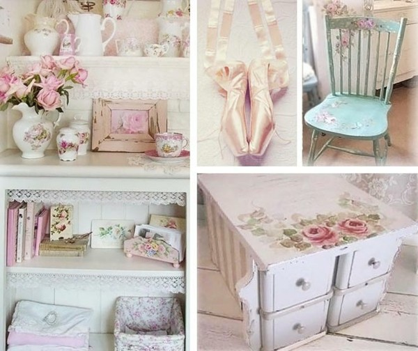 The Country Cottage Style For Home Inspiration By Kimberly: Shabby Chic Deko Selber Machen: Inspirierende Ideen Und