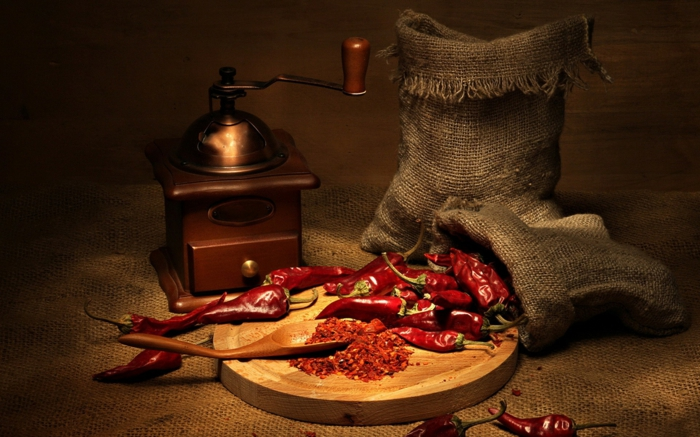 staendiges frieren gewuerze scharf chilies