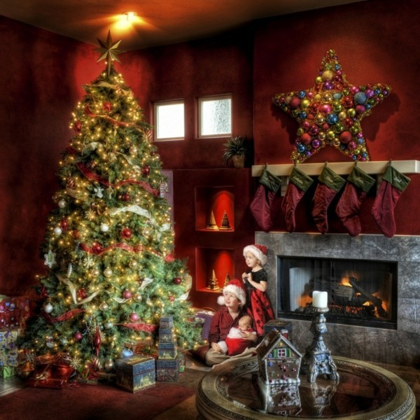 stern weihnachtskamin weihnachten kamin deko toll