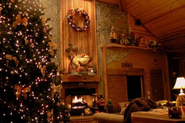 tannenbaum weihnachtskamin weihnachten kamin deko