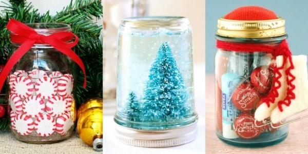 tolle einfälle geschenke aus dem glas basteln mit kindern