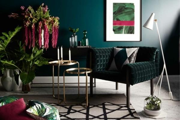 trendfarbe dunkelgrün pantone farbe des jahres