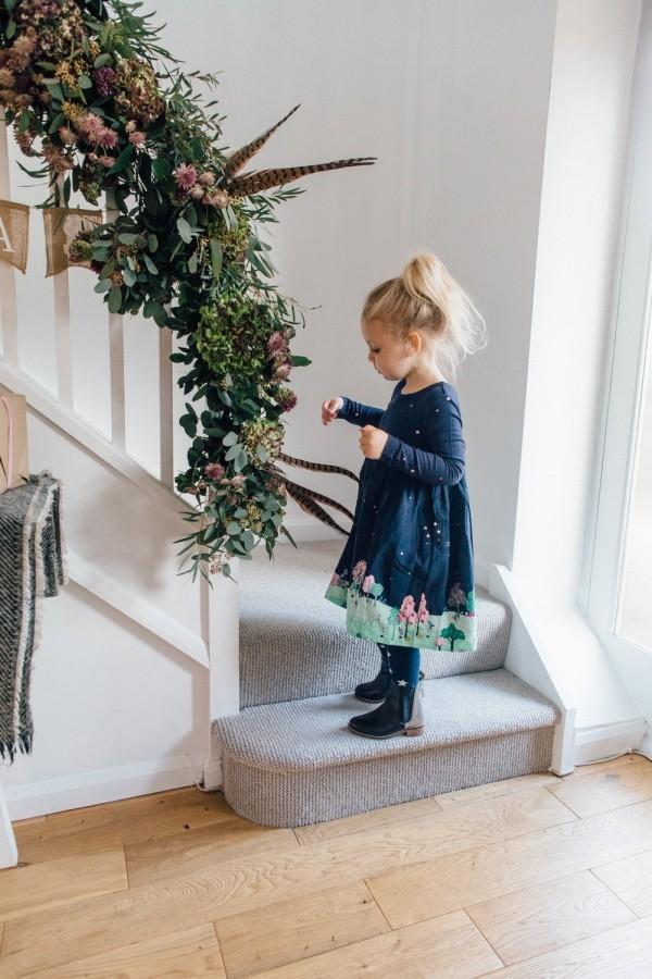 treppenhaus Schöne Weihnachtsdeko