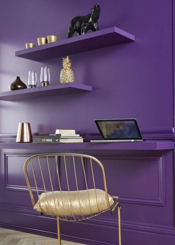 ultra violet wandfarbe pantone farbe des jahres