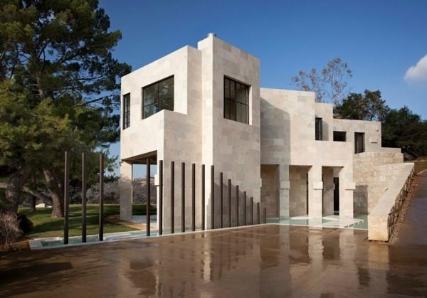 verschiedene Etaggem Granitplatten moderne Häuser bauen