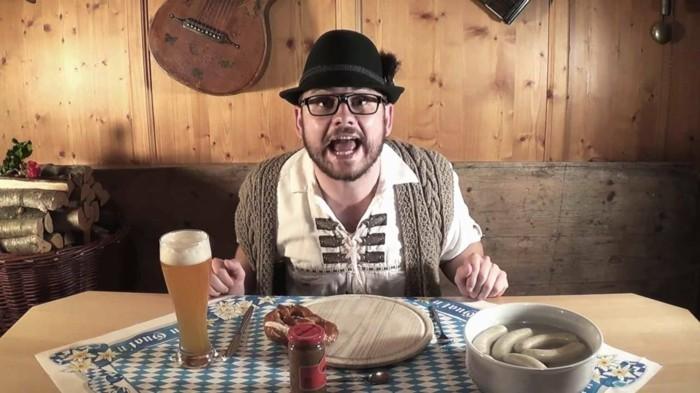weißwurstsalat bayerische kueche zuzeln anleitung
