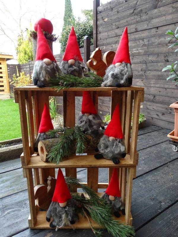 weihnachtsdeko diy ideen für wichtel basteln
