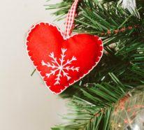Weihnachtsdeko nähen – 40 niedliche Bastelideen zu bewundern