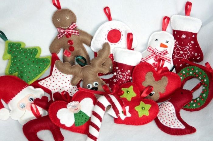 weihnachtsdeko nähen vielfalt an ideen weihnachtsmotive