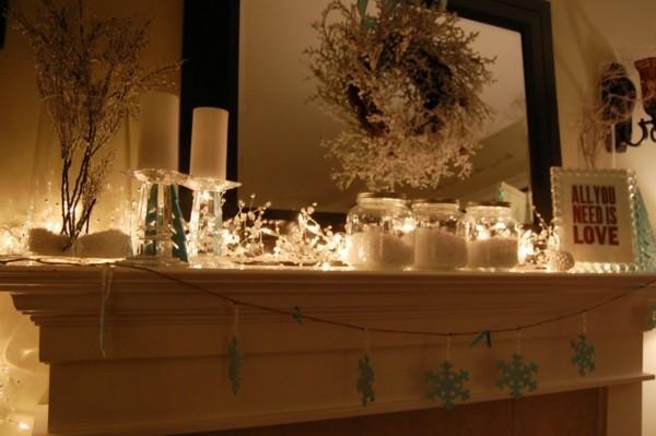 weihnachtskamin weihnachten kamin deko skandinavisch