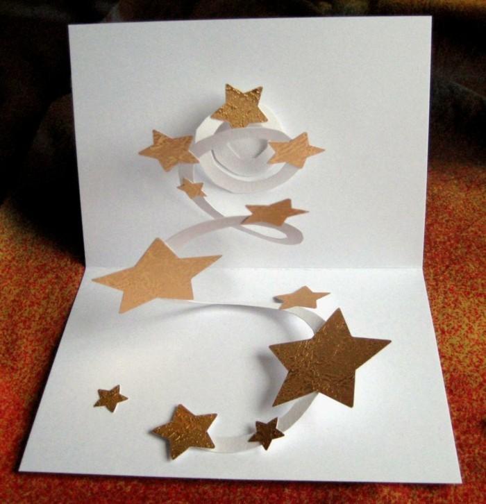 weihnachtskarte basteln und sich dabei vom scherenschnitt. Black Bedroom Furniture Sets. Home Design Ideas