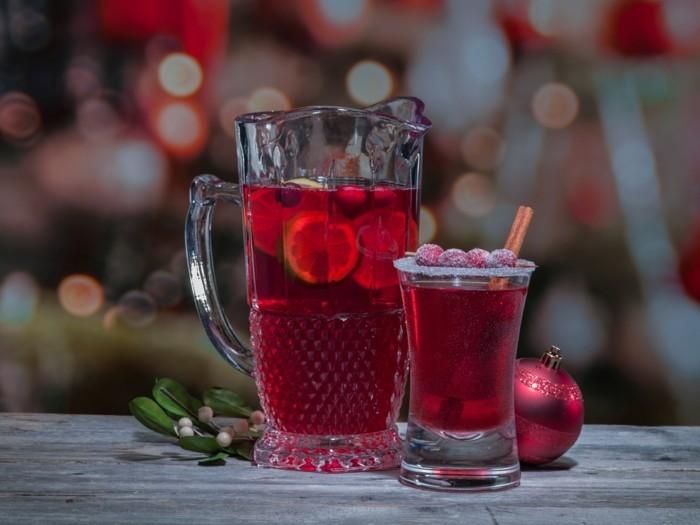 weihnachtspunsch mit Tee