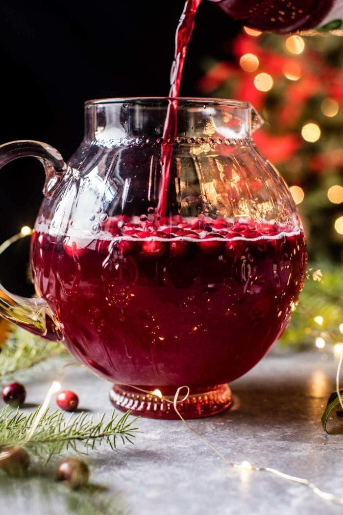 weihnachtspunsch spritz bowle