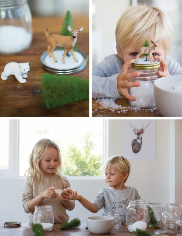 weiohnachten weihnachtsgeschenke aus dem Glas mit kindern basteln (3)
