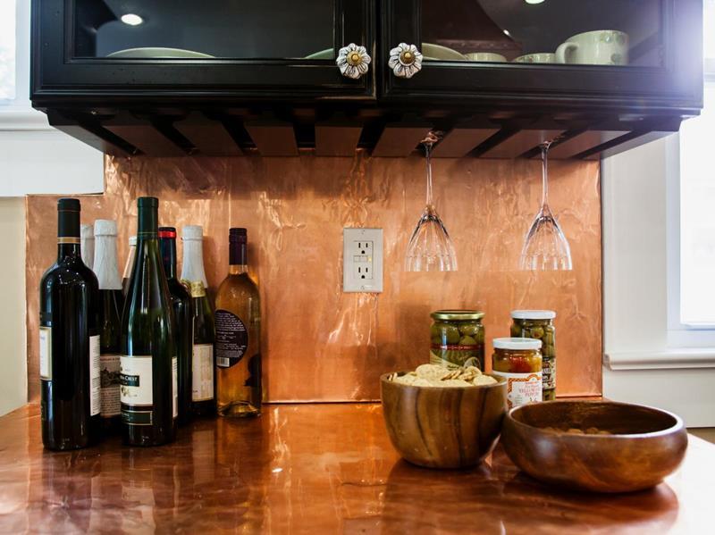Arbeitsplatte Küchenrückwand