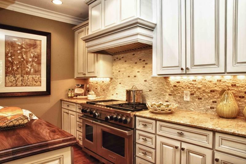 Bilder rustikale Küchengestaltung Ideen